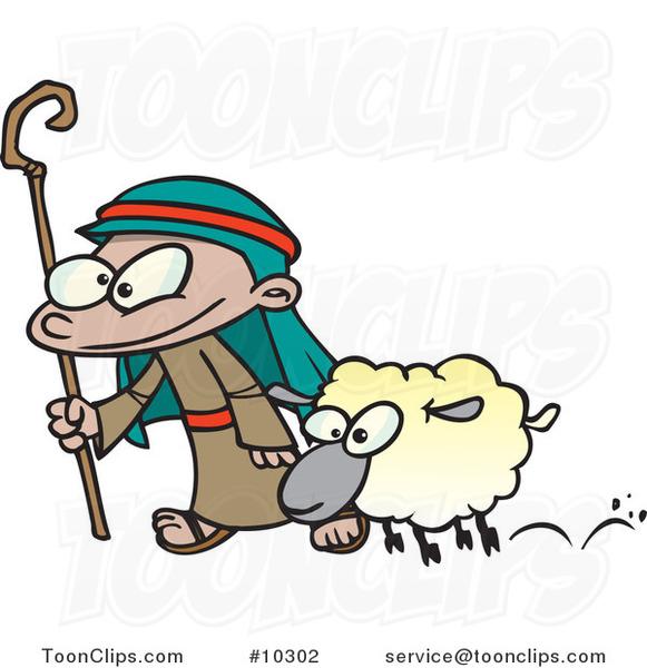 Cartoon Shepherd   New Calendar Template Site