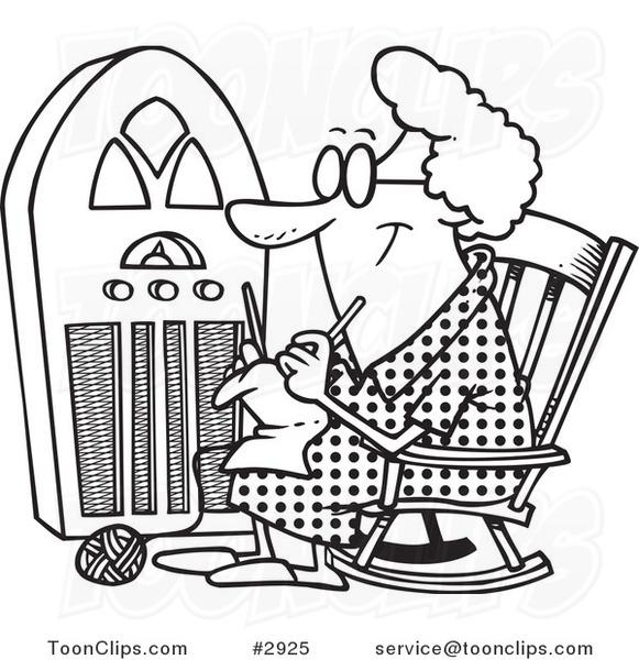 Grandma Knitting Cartoon : Pin grandma knitting cartoon image search results on pinterest