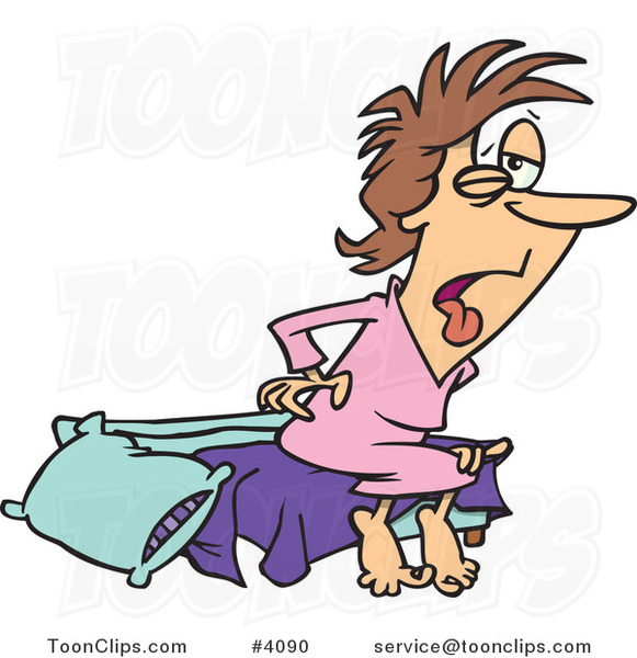 clipart of a girl waking up - photo #50
