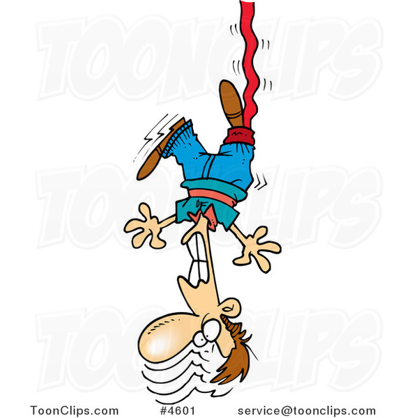 Cartoon Bungee Jumper