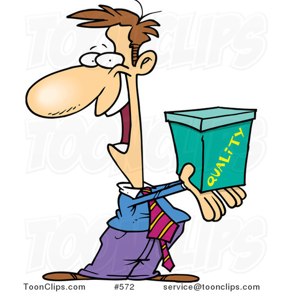 cartoon guy holding out a quality box 572 by ron leishman dogs clip art black and white dog clipart outline
