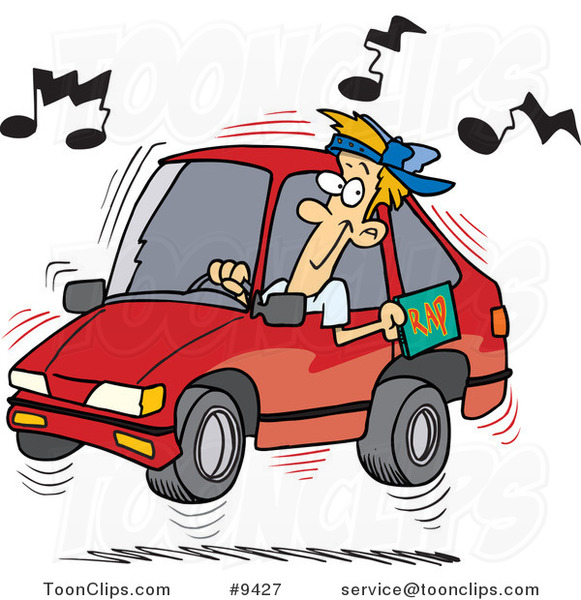 Car radio clipart