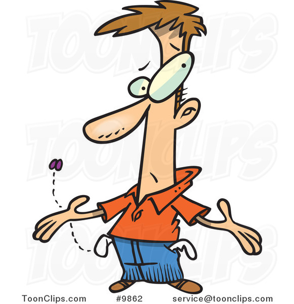 cartoon broke and penniless guy 9862 by ron leishman pirates clip art free pirate clipart images free