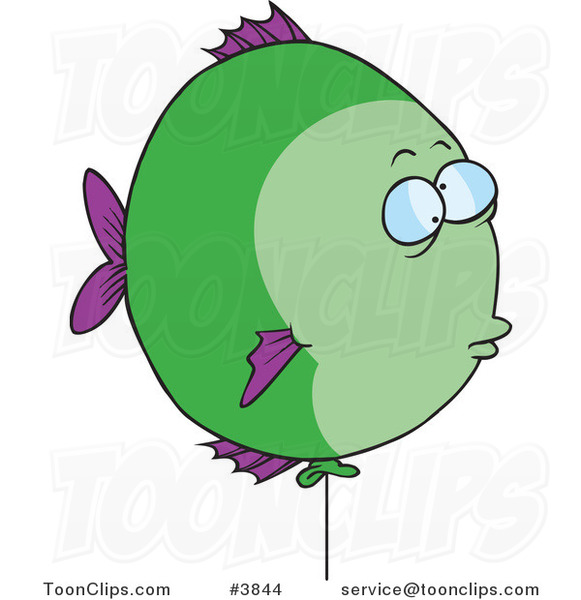 Cartoon Balloon Fish