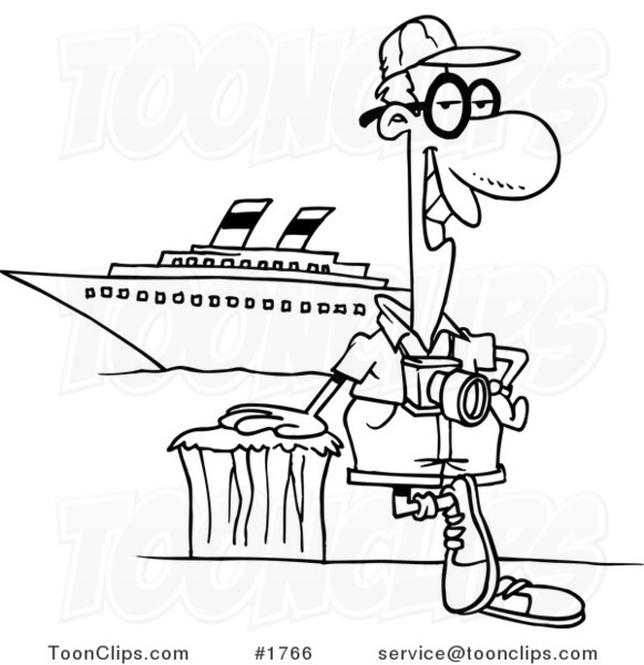 cartoon black and white line drawing of a cruise tourist basketball clip art black and white free baseball clipart black and white