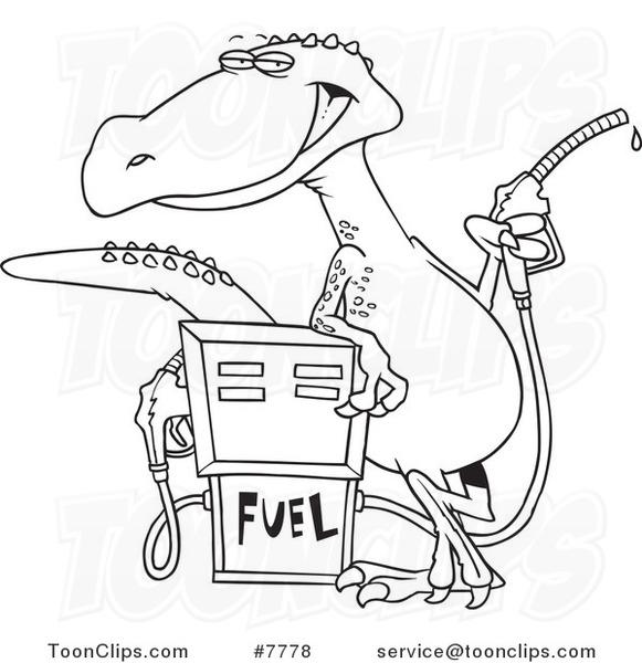 gas station floor plan design sketch coloring page