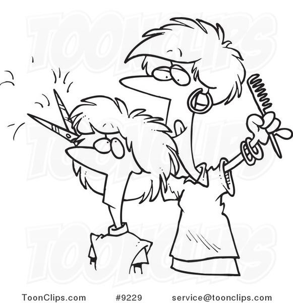 Showing post & media for Cartoon cutting hair | www.cartoonsmix.com
