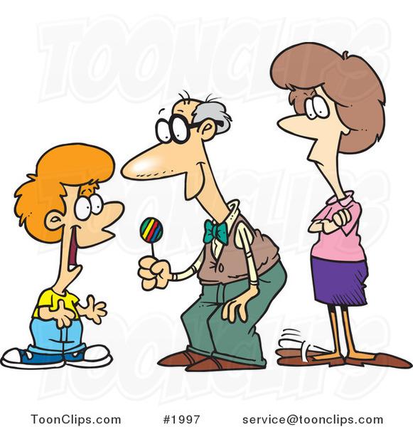 bribe grandpa