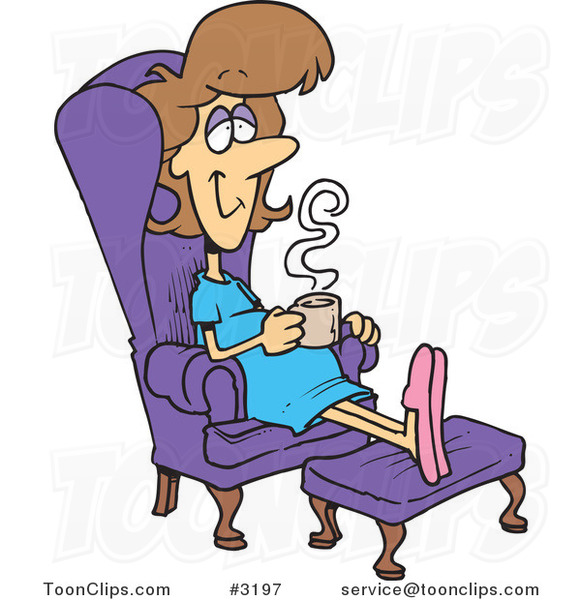 mom drinking coffee clip art hot girls wallpaper Tired Cartoon Exhausted Lady Clip Art