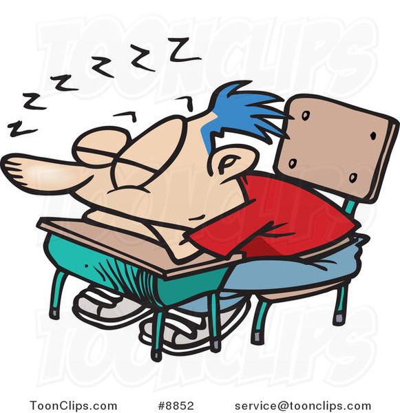 cartoon school boy sleeping on his desk 8852 by ron leishman st patrick's clip art st patricks clipart backgrounds