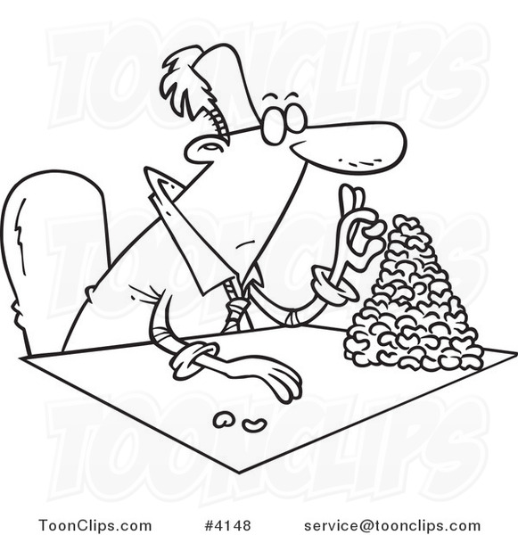 cartoon black and white line drawing of a business man clipart of baseball spikes/cleats clipart of baseball