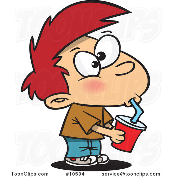 cartoon boy drinking soda 10594 by ron leishman summer school clip art free public domain summer school clipart