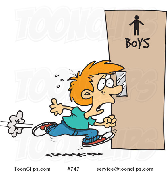 cartoon little boy running to the restroom 747 by ron girl basketball clipart free girl playing basketball clipart