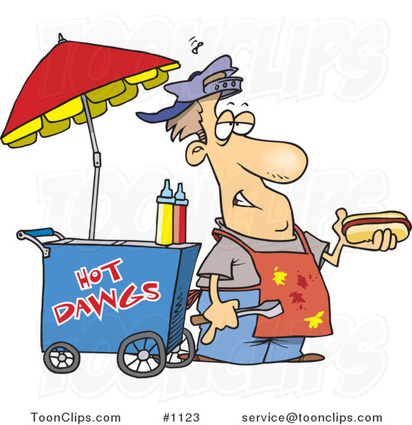 Bike Hot Dog Stand