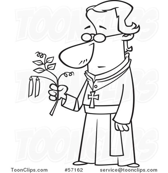 Gregor Mendel Pea Plants