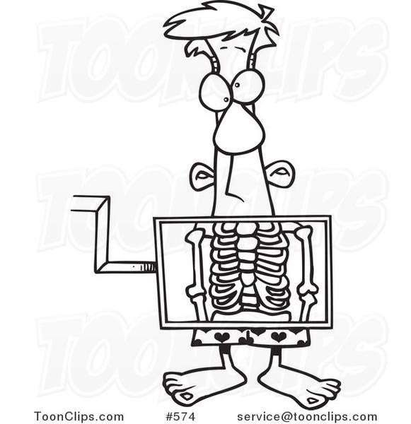 Cartoon X Ray Machine